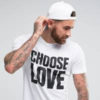 ASOS 'Help Refugees Choose Love' T-shirt