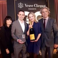 Claudia Winkleman, Gareth Banner, Jennifer Harris and Giorgio Locatelli