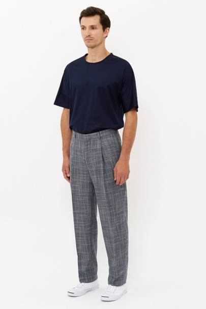 E Tautz pleated trousers
