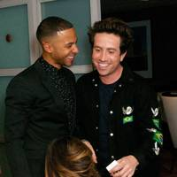 Marvin Humes and Nick Grimshaw