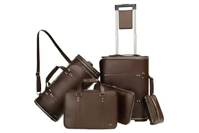 Brown Leather Collection Set by VOCIER