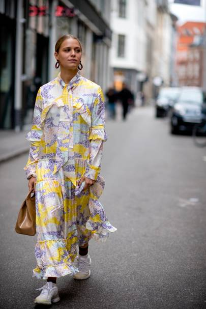 Maximalismo en Copenhague - street style 2018