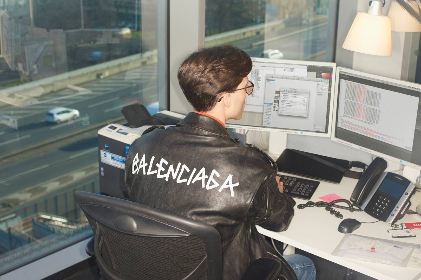 3d4c28d9a66 Mr Porter and Balenciaga collaborate to launch capsule collection ...