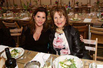 Janine di Giovanni and Helena Kennedy
