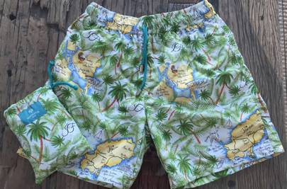 Custom swimming shorts by Havelock Bay and Orlebar Brown