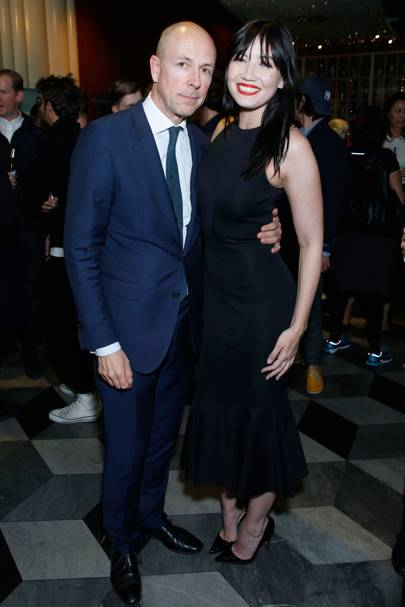 GQ Editor Dylan Jones and Daisy Lowe