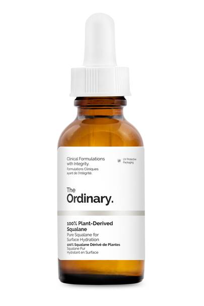 The serum: 100% Plant-Derived Squalane by The Ordinary