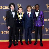 Finn Wolfhard, Noah Schnapp, Gaten Matarazzo and Caleb McLaughlin