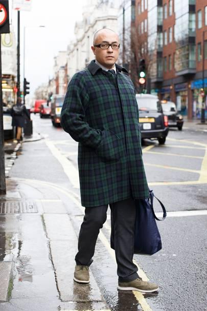 Norio Hahatani, merchandise manager, Hankyu Hanshin