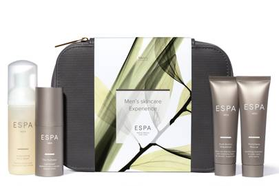 Men's skincare experience by ESPA