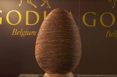 Giant Easter Atelier Egg, Godiva