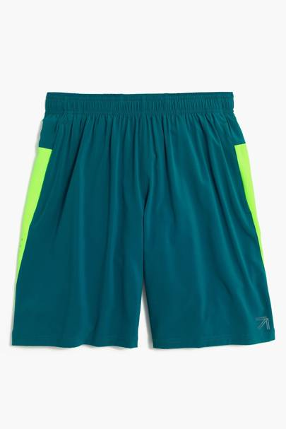 "New Balance for J Crew 9"" 2-in-1 workout shorts"