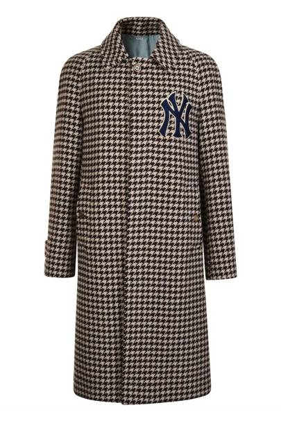 NY Yankees Coat by Gucci