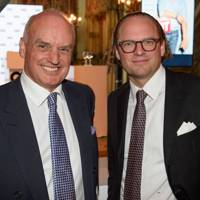 Nicholas Coleridge, President, Conde Nast International and Moritz von Lafert, Managing Director, Conde Nast Germany