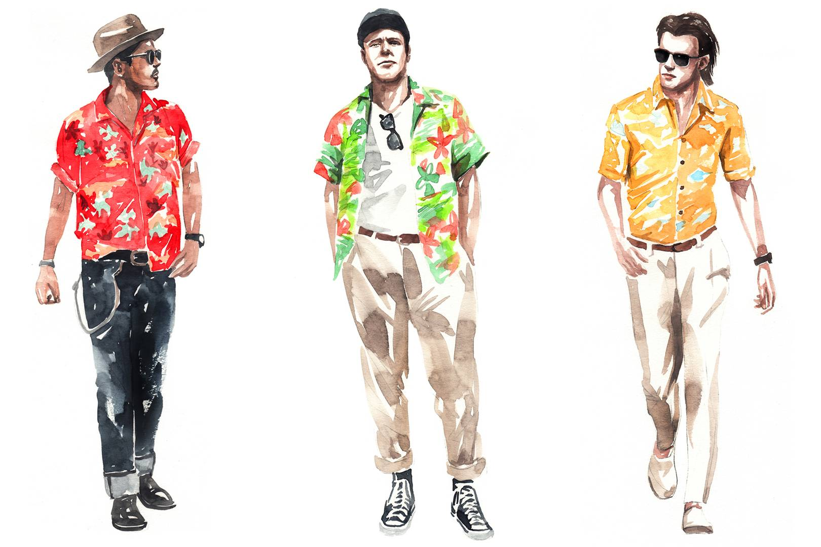 4697935e2d How to wear a Hawaiian shirt | British GQ