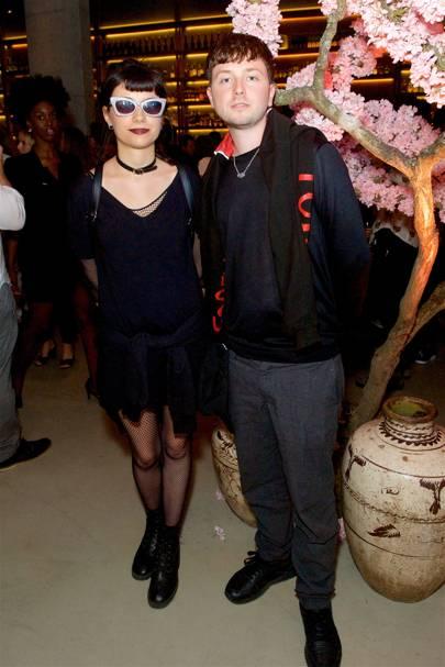 Charlotte Mallory and Finlay Kemp