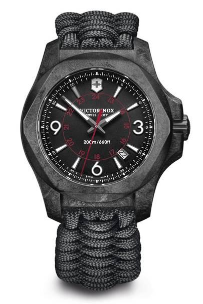 Victorinox 'INOX Carbon' watch
