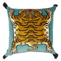 Saber large velvet cushion by House Of Hackney