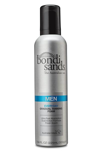Everyday gradual tanning foam for men by Bondi Sands