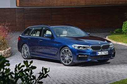 The 2017 Bmw 5 Series Touring Is A Lot Of Tech In Very Useful Box