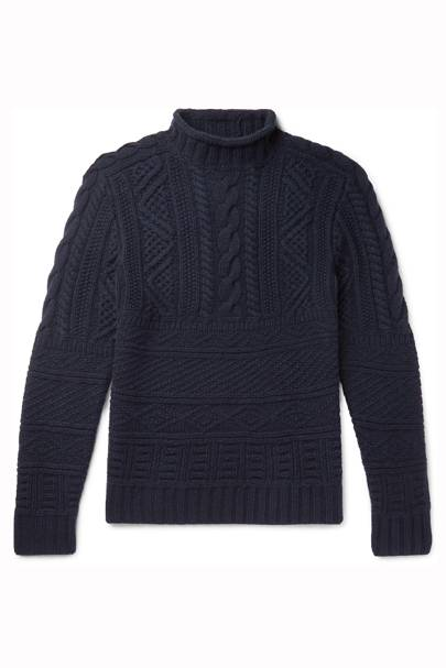 Cashmere and wool roll-neck by Ralph Lauren Purple Label