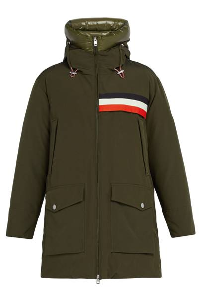 Celan down-filled parka by Moncler 1952