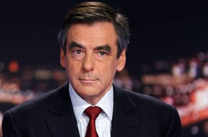 French presidential election favourite François Fillon