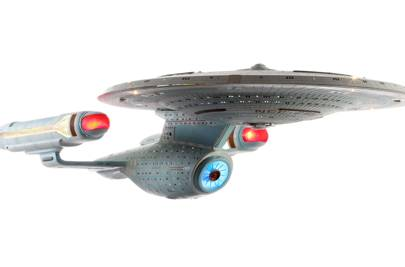 Ambassador-Class Starship Model Miniature from Star Trek: The Next Generation
