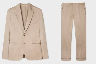 Cotton Suit by Paul Smith