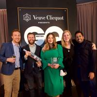 Martyn Tawn, Bobby Hiddleston, Coral Anderson, Mia Johansson and Ryan Chetiyawardana, winners of Best Bar for Swift