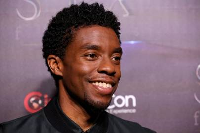 Chadwick Boseman believes in wild style, serious grooming