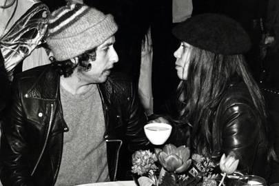 1980: Bob Dylan and Rickie Lee