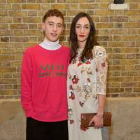 Olly Alexander and Cara Horgan