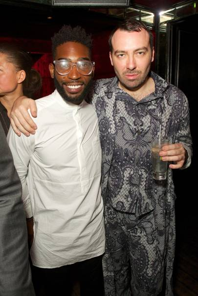Tinie Tempah and James Long
