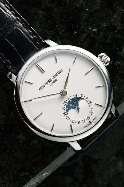 Slimline Moonphase by Frédérique Constant