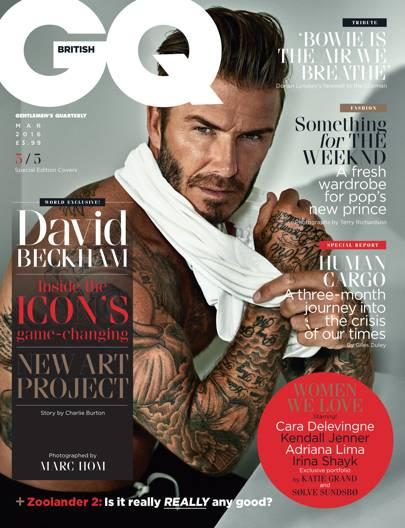 David Beckham - March 2016