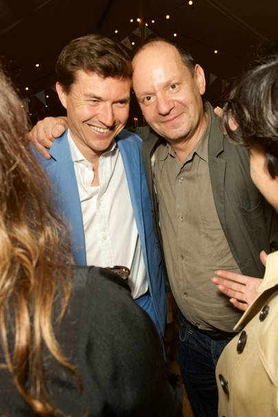 James Roscoe and Philippe Sands