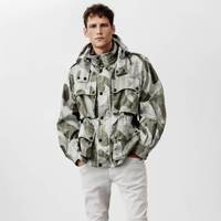 And finally...don't hang up your fatigues - Belstaff