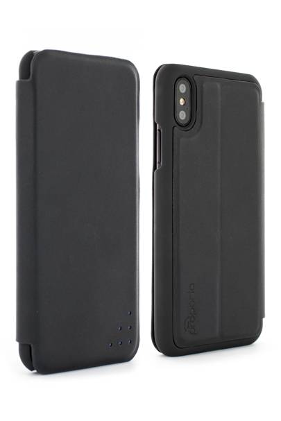 Proporta's Real Leather Folio Case - Carbon Opus - £30