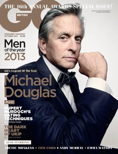 Michael Douglas - October 2013