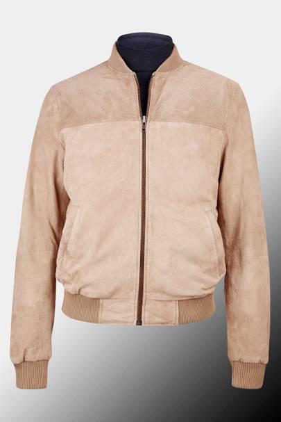 Montague Burton suede jacket