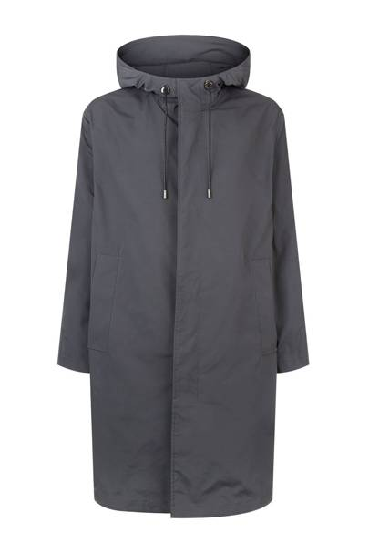 Hooded longline parka by Solid Homme