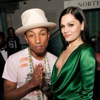 Pharrell Williams and Jessie J