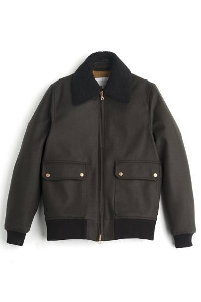 Pilot bomber jacket by Private White VC