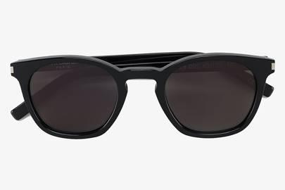The winter sunglasses