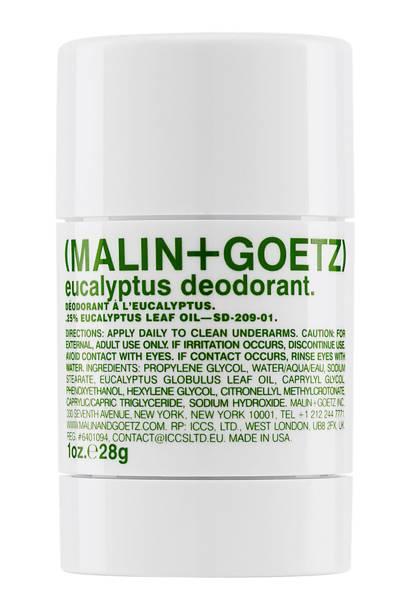 Eucalyptus deodorant by Malin + Goetz