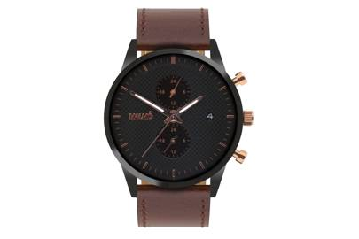 Rose Gold Traveller by Malmo Timepieces