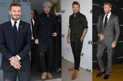September: David Beckham