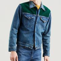 Orange tab trucker jacket by Levi's Vintage
