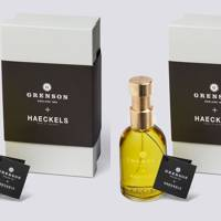Grenson x Haeckels fragrances